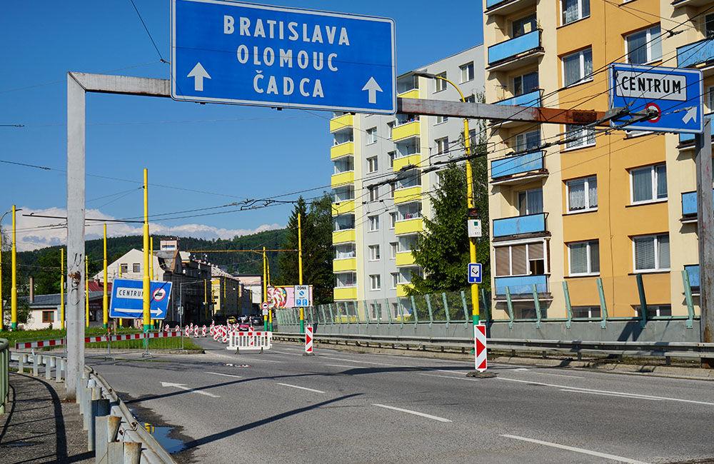 FOTO: Na okružnej križovatke Rondel bola zavedená obojsmerná premávka, foto 6