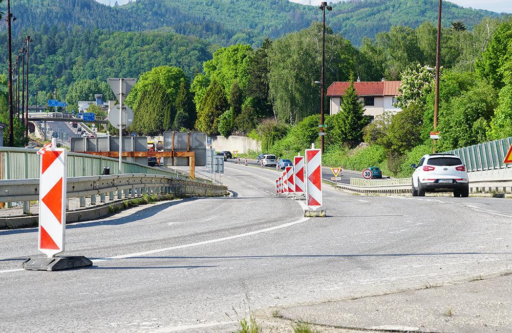 FOTO: Na okružnej križovatke Rondel bola zavedená obojsmerná premávka, foto 9