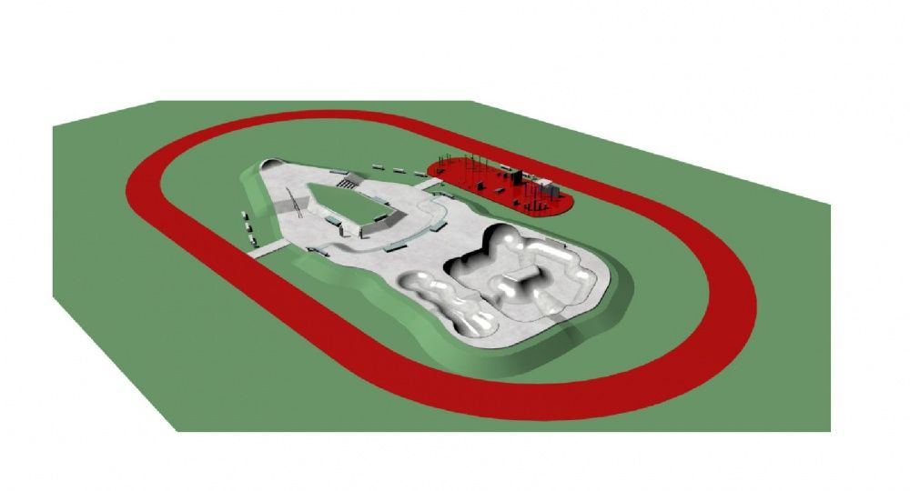 Nový skatepark na Oravskej ceste v Žiline, foto 2