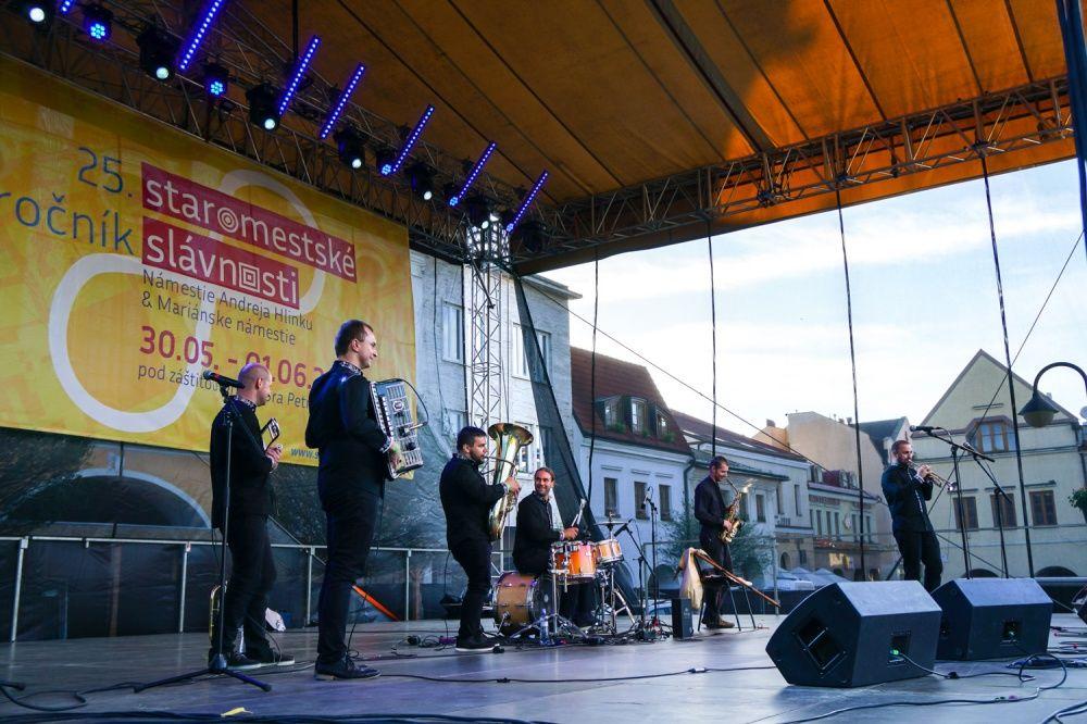 FOTO: Balkansambel na Staromestských slávnostiach 2019, foto 1