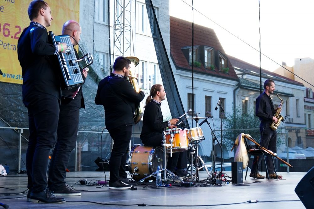 FOTO: Balkansambel na Staromestských slávnostiach 2019, foto 2