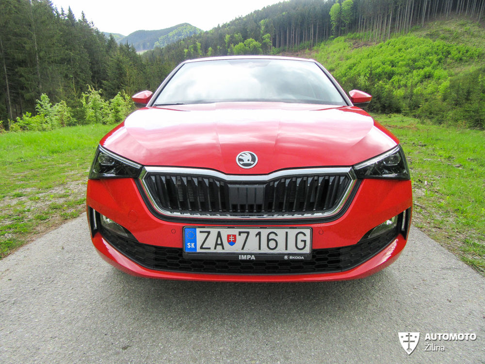 FOTO: Redakčný test nového modelu Škoda Scala, foto 1