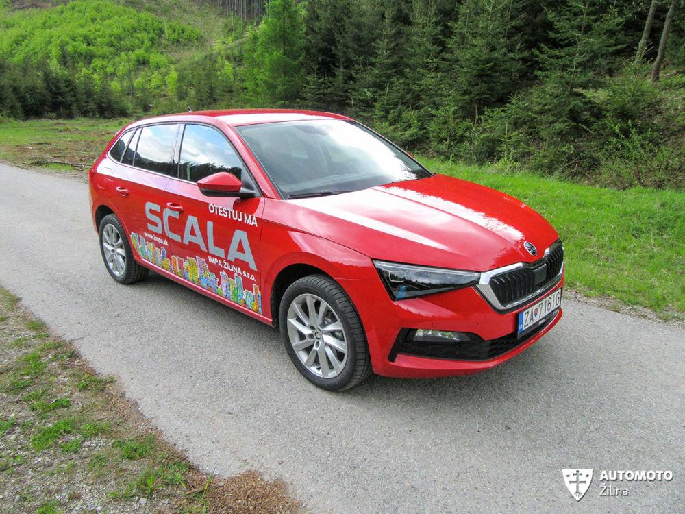 FOTO: Redakčný test nového modelu Škoda Scala, foto 4