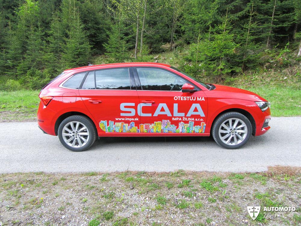 FOTO: Redakčný test nového modelu Škoda Scala, foto 5