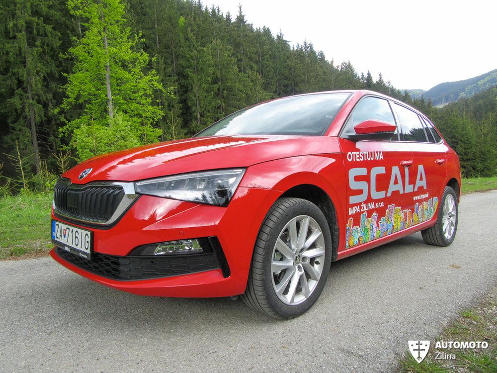 FOTO: Redakčný test nového modelu Škoda Scala, foto 11