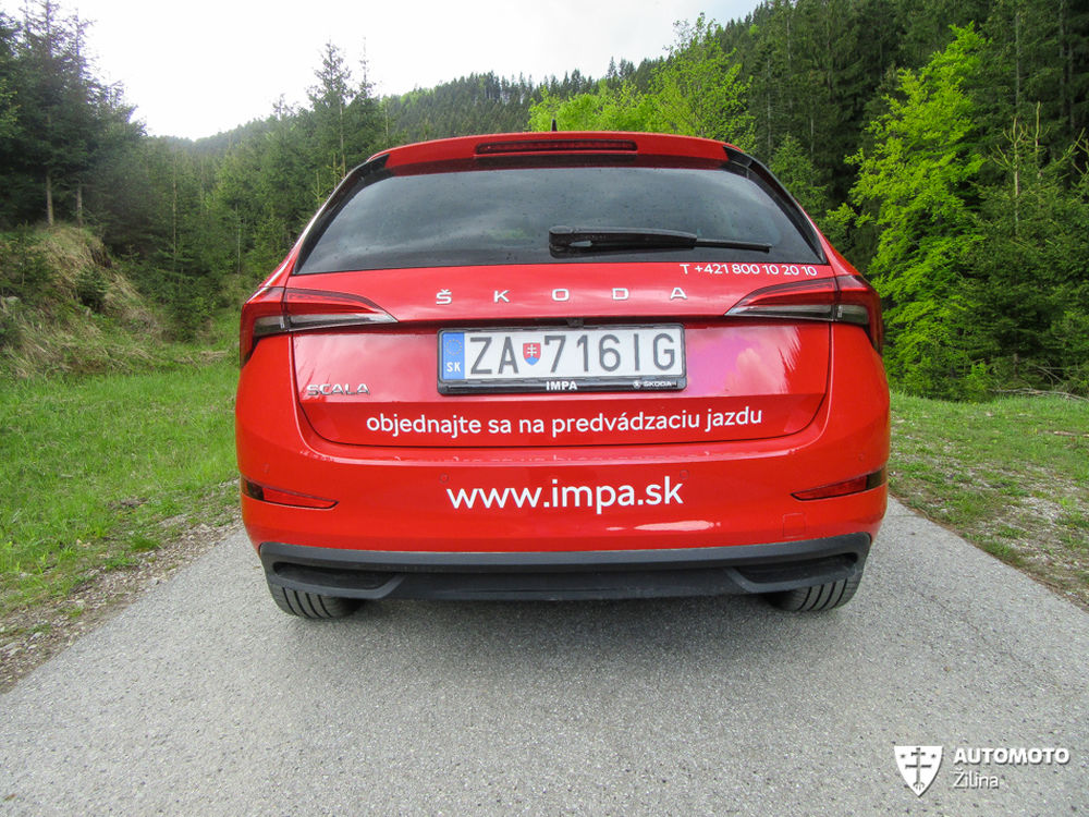 FOTO: Redakčný test nového modelu Škoda Scala, foto 9