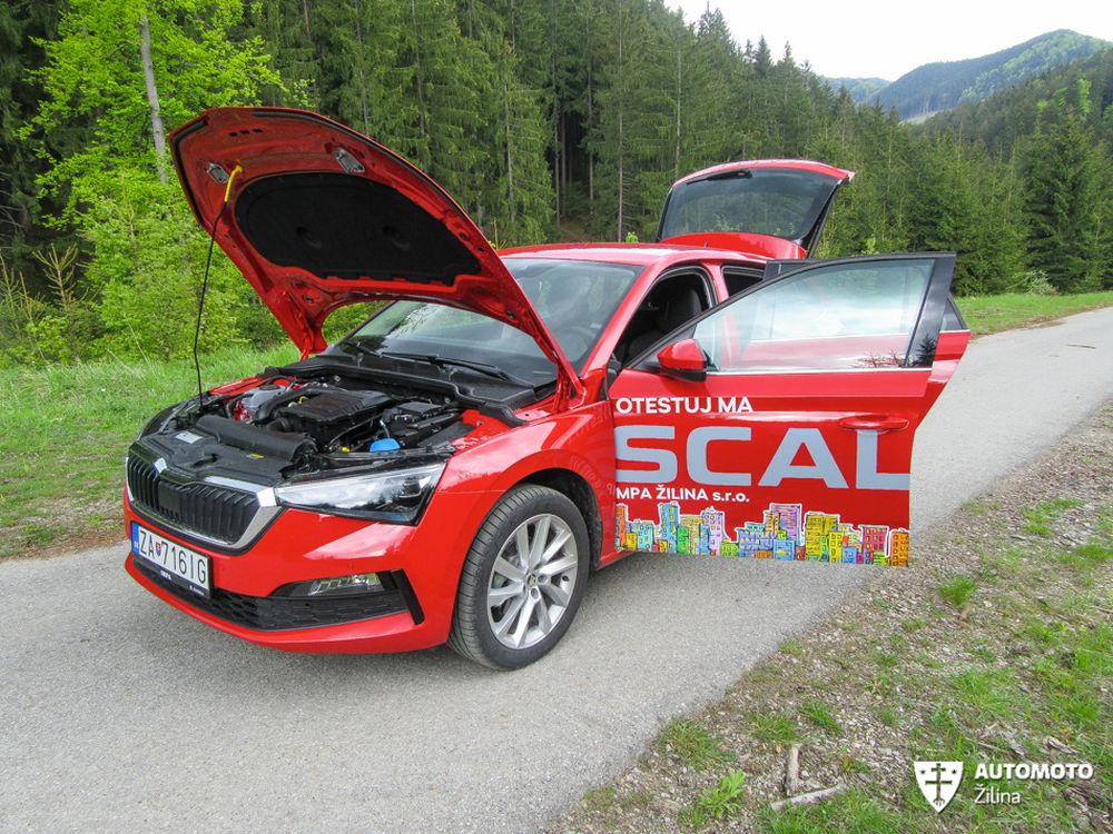 FOTO: Redakčný test nového modelu Škoda Scala, foto 14