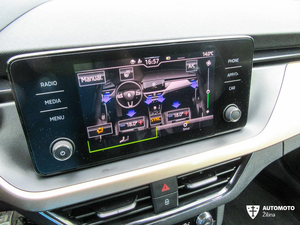 FOTO: Redakčný test nového modelu Škoda Scala, foto 25