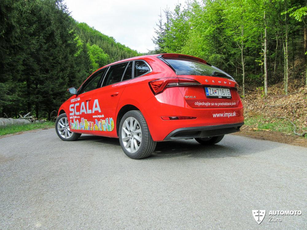 FOTO: Redakčný test nového modelu Škoda Scala, foto 34