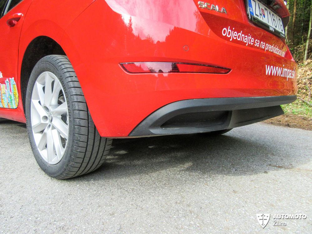 FOTO: Redakčný test nového modelu Škoda Scala, foto 35