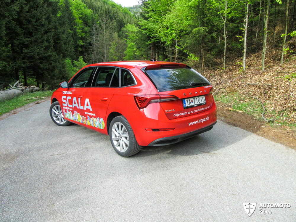 FOTO: Redakčný test nového modelu Škoda Scala, foto 36