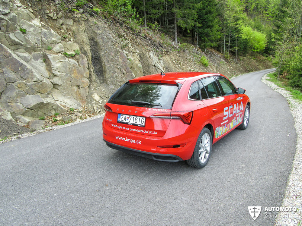 FOTO: Redakčný test nového modelu Škoda Scala, foto 39