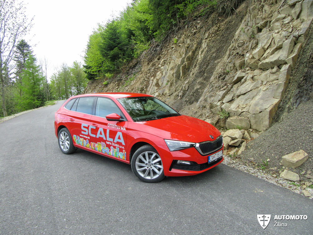 FOTO: Redakčný test nového modelu Škoda Scala, foto 40