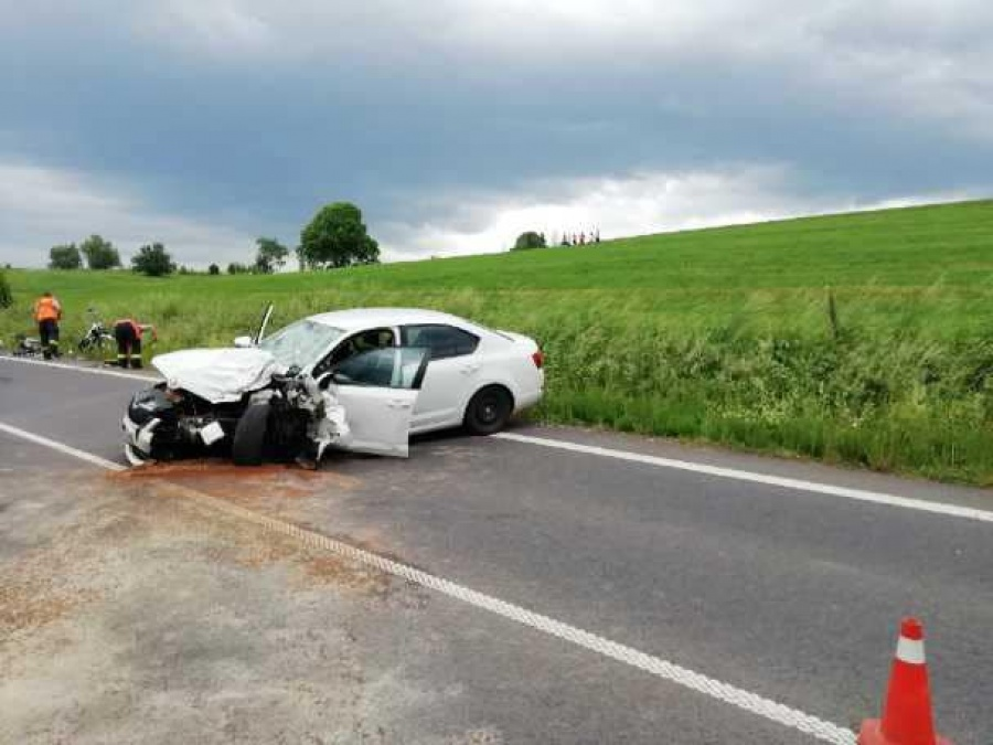 PHOTO: In the Liptovsky Mikulas district, a tragic accident occurred