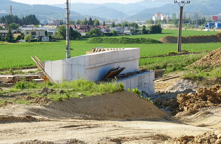 FOTO: Aktuálny stav prác na stavbe diaľničného privádzača 27.6.2019, foto 4