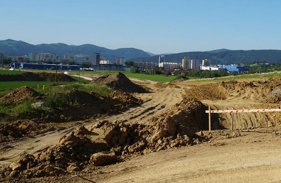 FOTO: Aktuálny stav prác na stavbe diaľničného privádzača 27.6.2019, foto 6