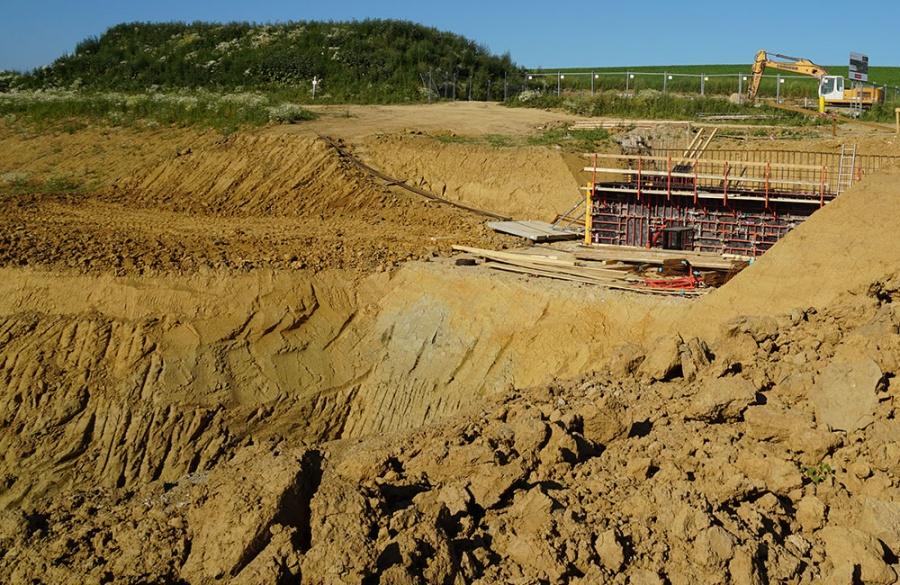 FOTO: Aktuálny stav prác na stavbe diaľničného privádzača 27.6.2019, foto 7