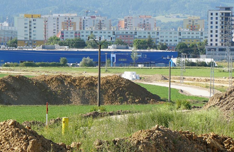 FOTO: Aktuálny stav prác na stavbe diaľničného privádzača 27.6.2019, foto 9
