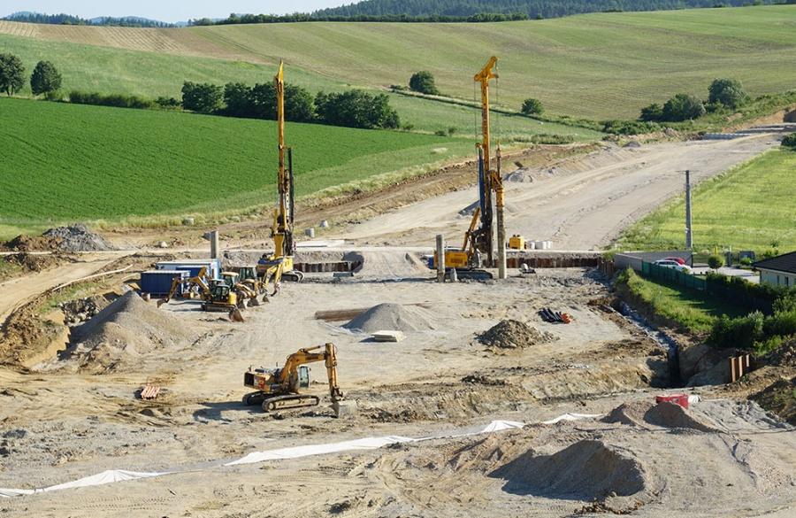 FOTO: Aktuálny stav prác na stavbe diaľničného privádzača 27.6.2019, foto 11