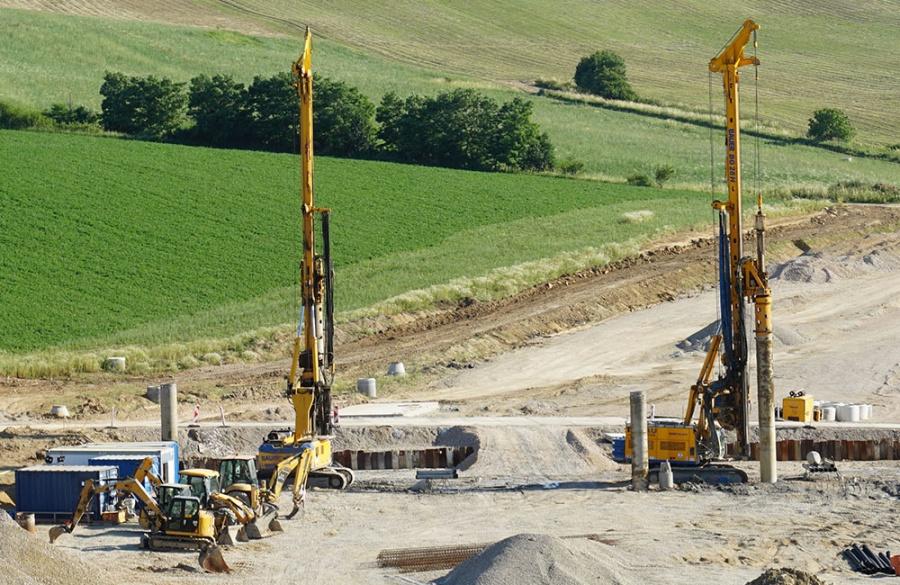 FOTO: Aktuálny stav prác na stavbe diaľničného privádzača 27.6.2019, foto 12
