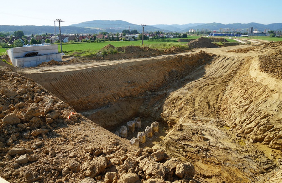 FOTO: Aktuálny stav prác na stavbe diaľničného privádzača 27.6.2019, foto 16