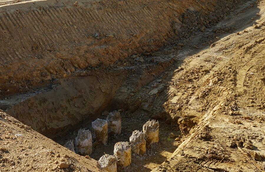 FOTO: Aktuálny stav prác na stavbe diaľničného privádzača 27.6.2019, foto 17