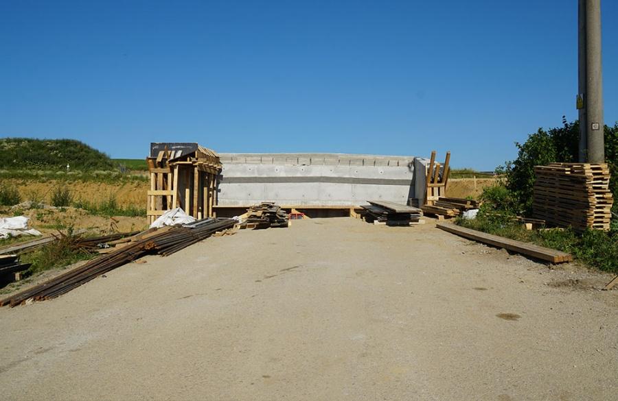 FOTO: Aktuálny stav prác na stavbe diaľničného privádzača 27.6.2019, foto 19
