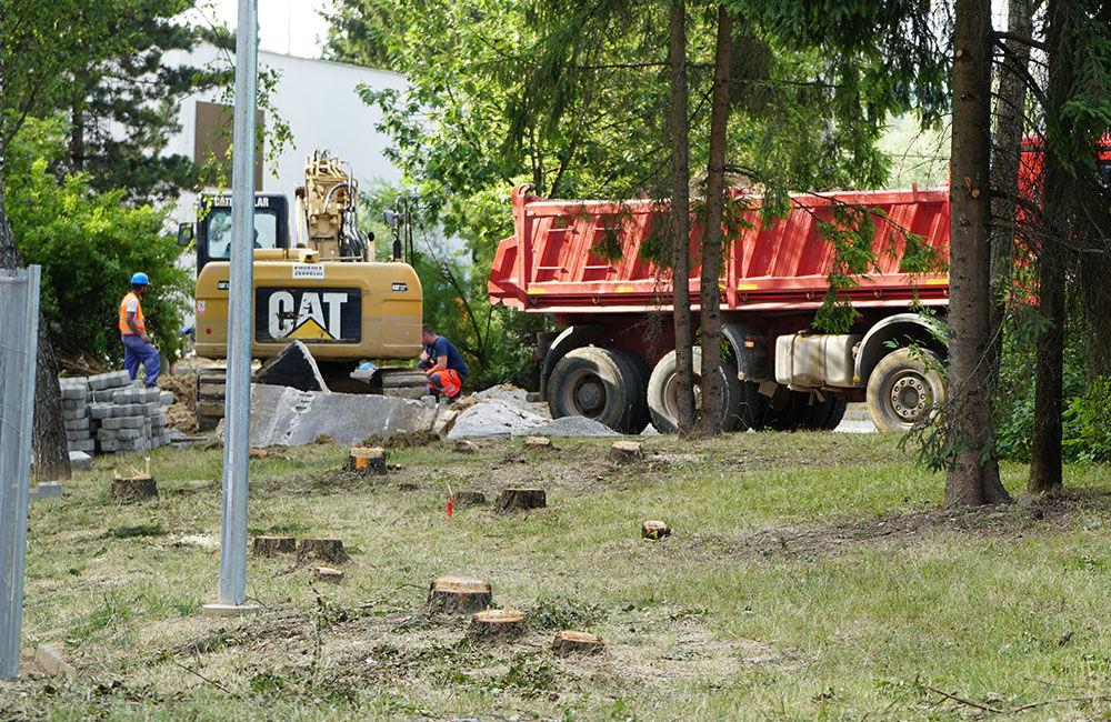 Výstavba horúcovodu na sídlisku Solinky v Žiline, foto 3