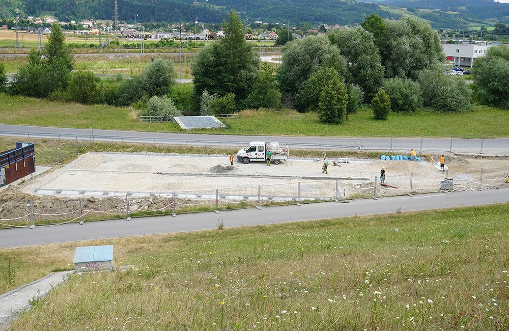 FOTO: Pri skateparku na Vodnom diele Žilina vzniká nové parkovisko, foto 4
