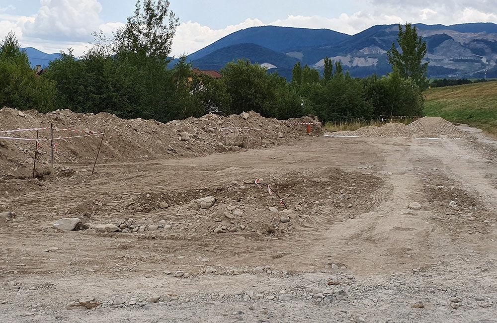 Budovanie nového parkoviska na Vodnom diele pri obci Mojš, foto 2
