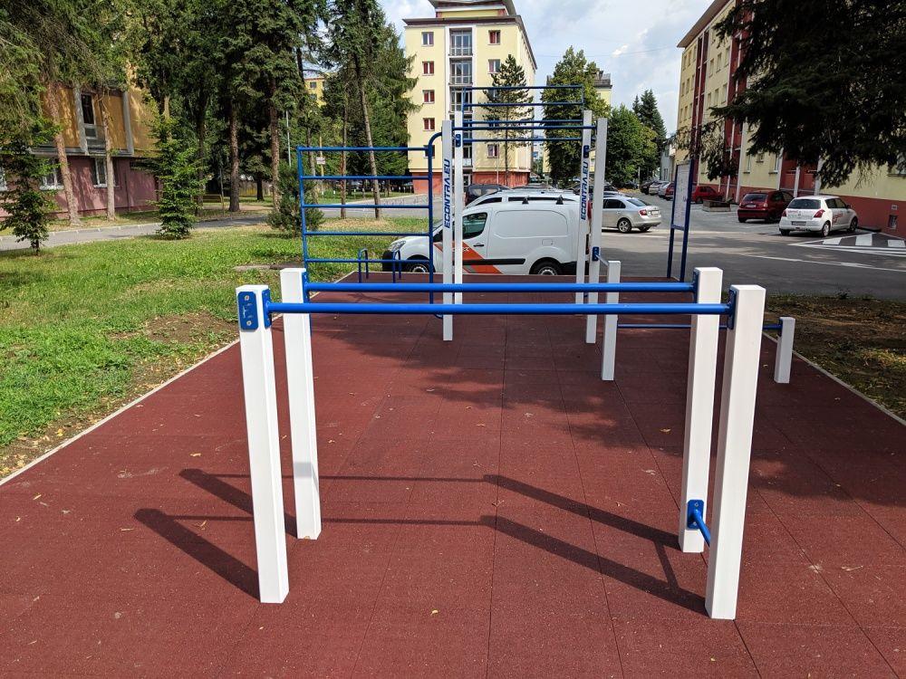 Workout ihrisko Hliny Žilina areál internátov UNIZA, foto 4