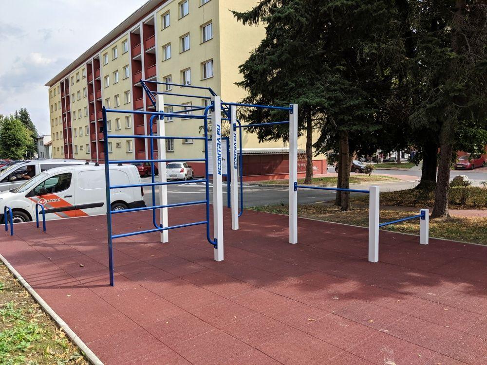 Workout ihrisko Hliny Žilina areál internátov UNIZA, foto 5