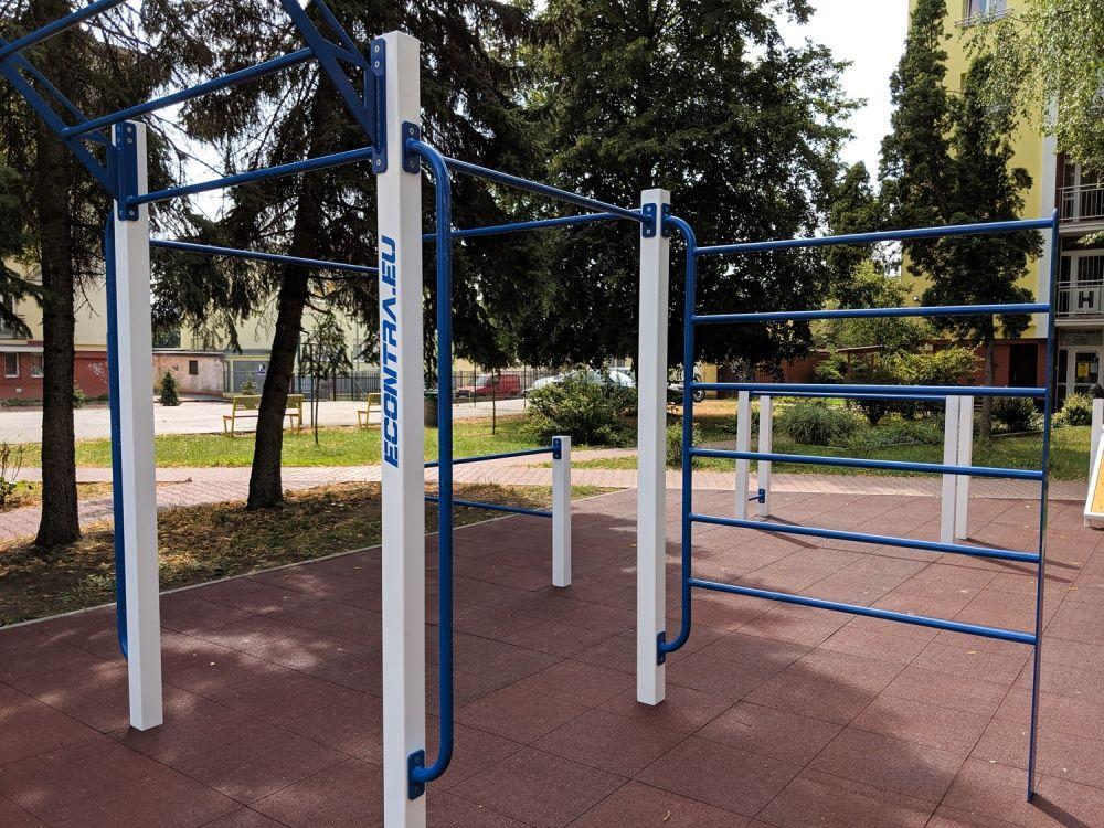 Workout ihrisko Hliny Žilina areál internátov UNIZA, foto 7