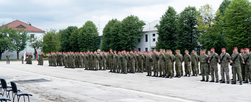FOTO: Výmena veliteľa 5. pluku špeciálneho určenia v Žiline, foto 1