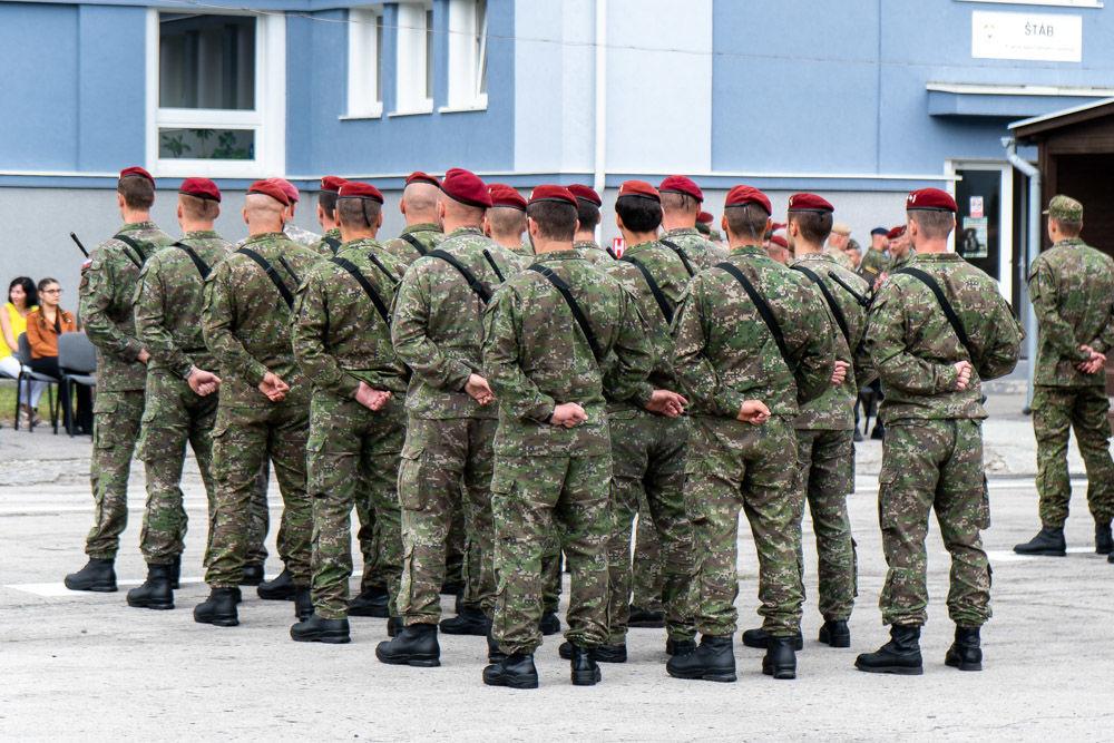 FOTO: Výmena veliteľa 5. pluku špeciálneho určenia v Žiline, foto 2