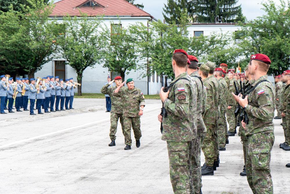 FOTO: Výmena veliteľa 5. pluku špeciálneho určenia v Žiline, foto 6