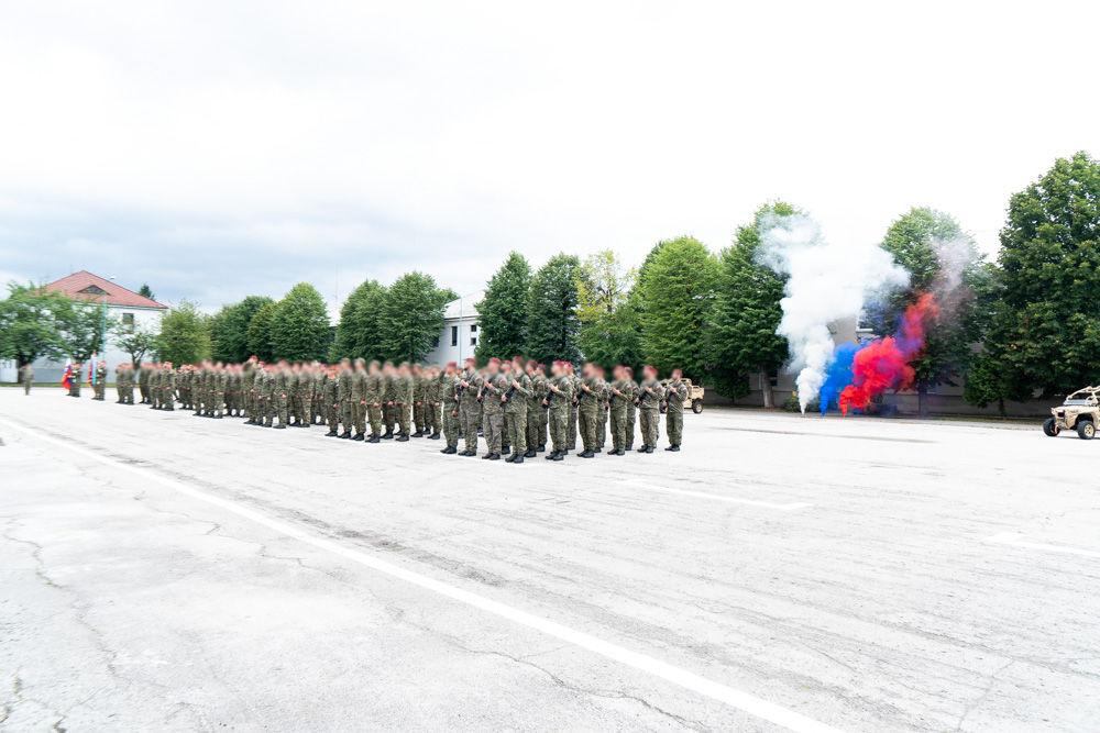 FOTO: Výmena veliteľa 5. pluku špeciálneho určenia v Žiline, foto 3