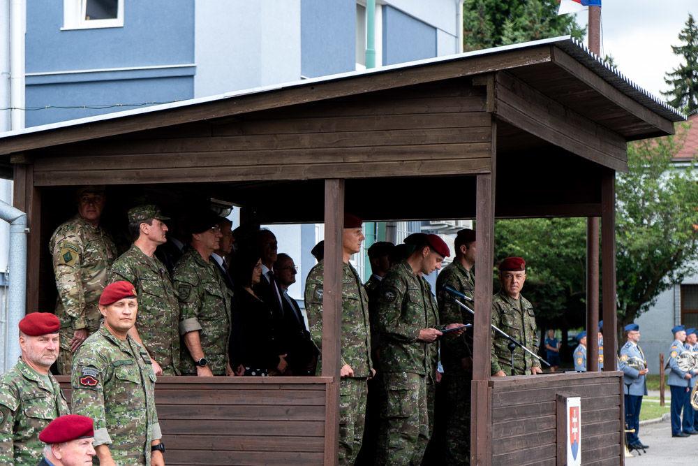 FOTO: Výmena veliteľa 5. pluku špeciálneho určenia v Žiline, foto 7