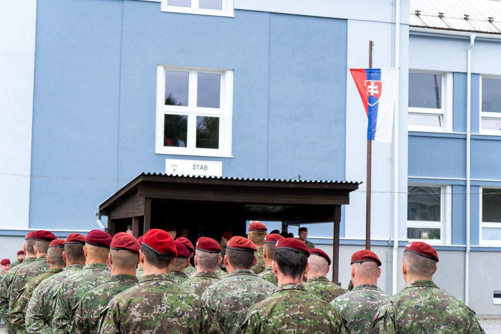 FOTO: Výmena veliteľa 5. pluku špeciálneho určenia v Žiline, foto 4
