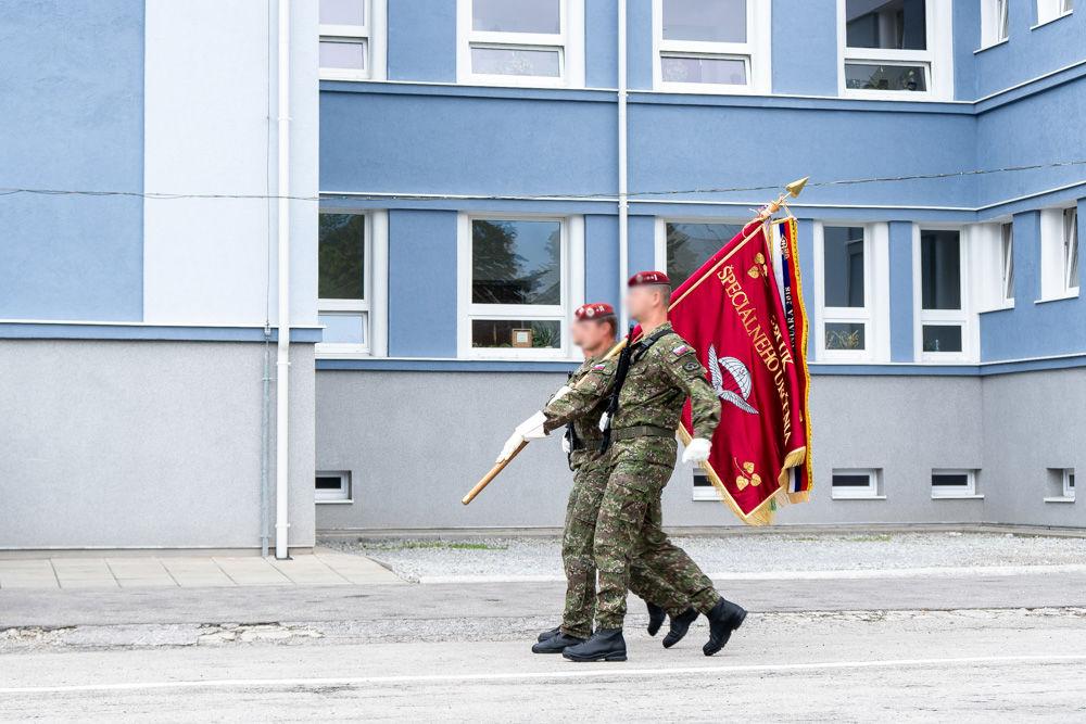 FOTO: Výmena veliteľa 5. pluku špeciálneho určenia v Žiline, foto 12