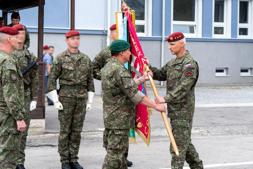 FOTO: Výmena veliteľa 5. pluku špeciálneho určenia v Žiline, foto 14