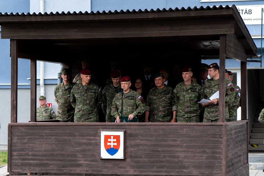 FOTO: Výmena veliteľa 5. pluku špeciálneho určenia v Žiline, foto 9