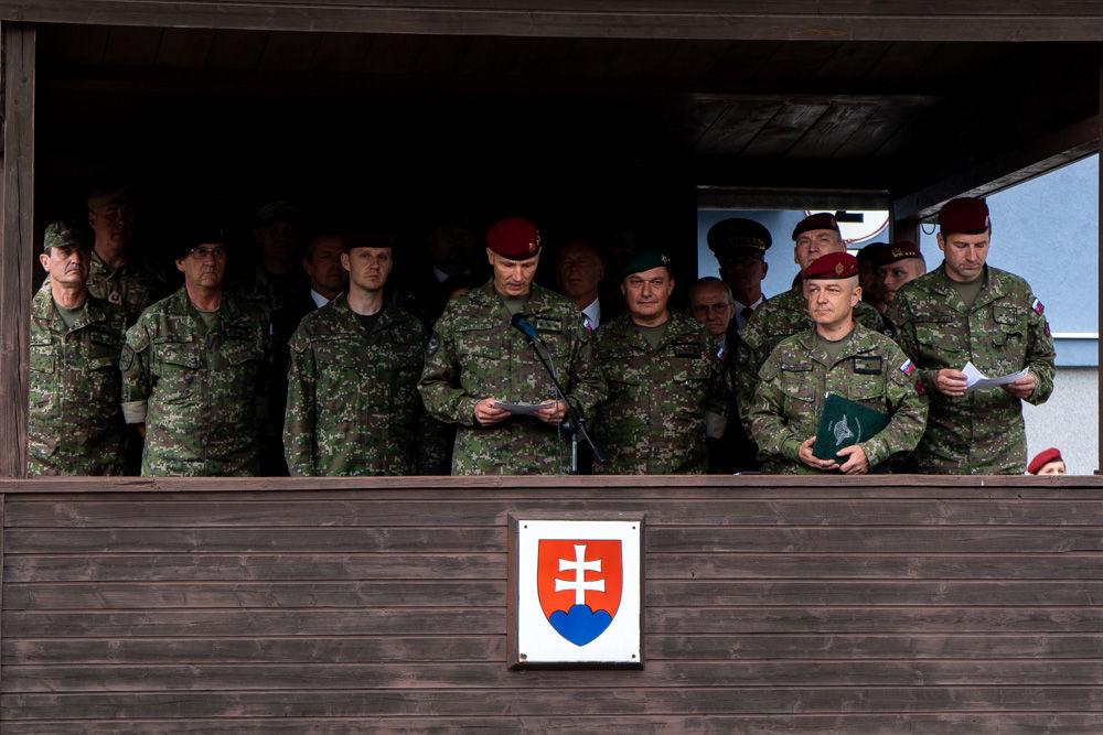 FOTO: Výmena veliteľa 5. pluku špeciálneho určenia v Žiline, foto 10