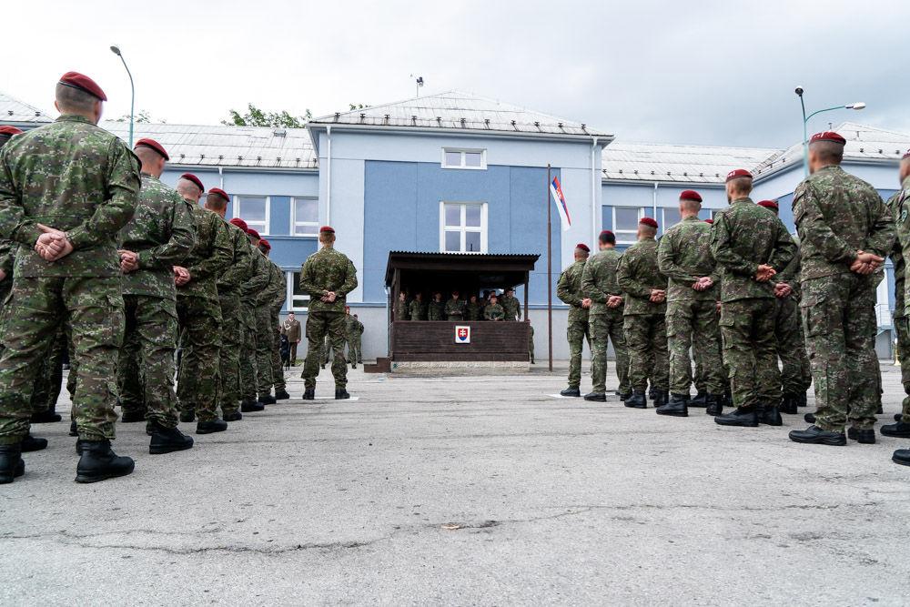 FOTO: Výmena veliteľa 5. pluku špeciálneho určenia v Žiline, foto 11