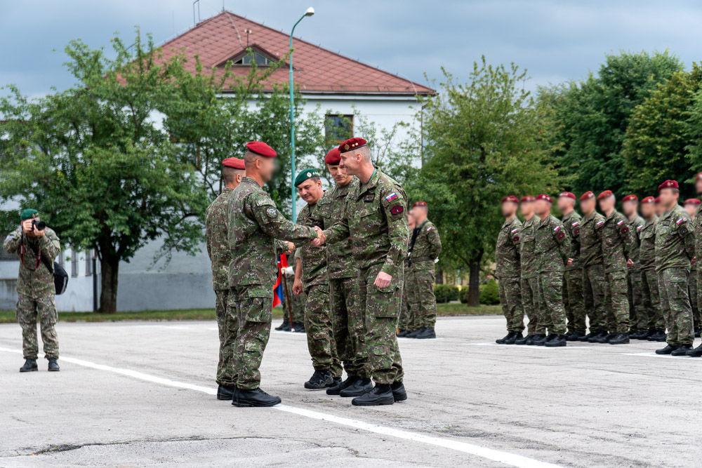 FOTO: Výmena veliteľa 5. pluku špeciálneho určenia v Žiline, foto 18