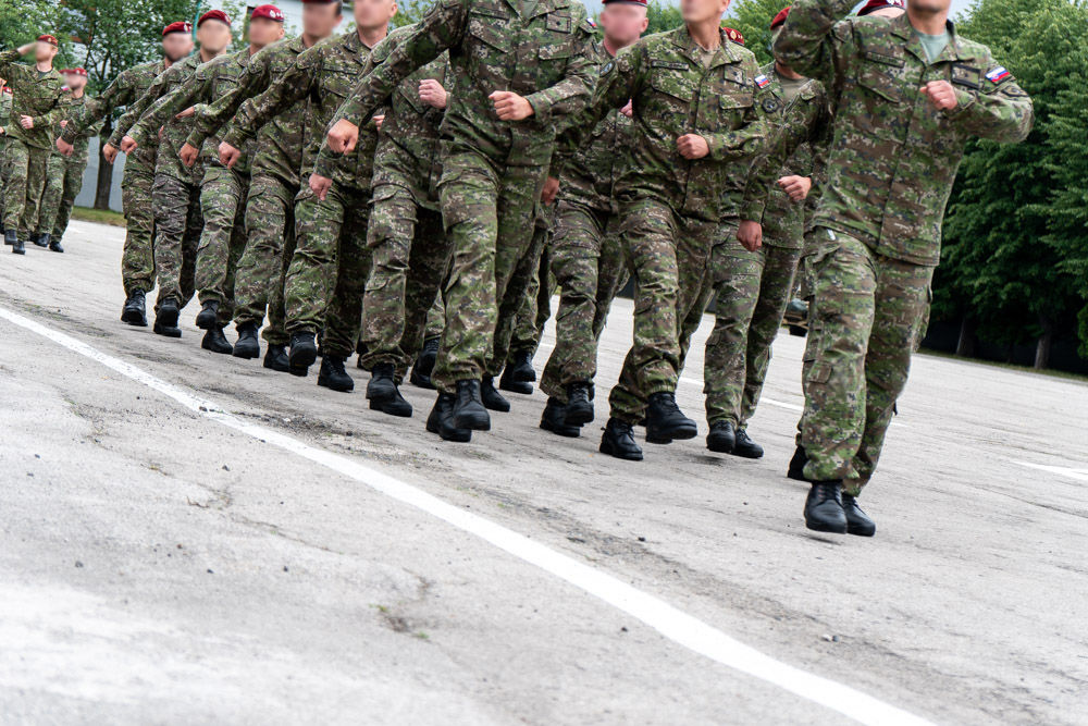 FOTO: Výmena veliteľa 5. pluku špeciálneho určenia v Žiline, foto 20