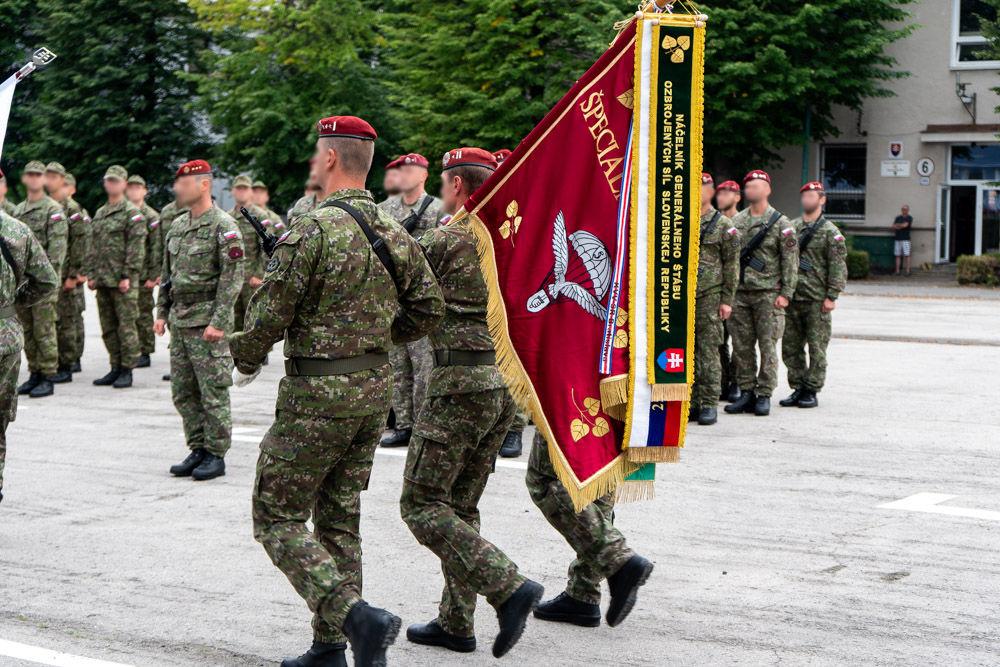 FOTO: Výmena veliteľa 5. pluku špeciálneho určenia v Žiline, foto 21