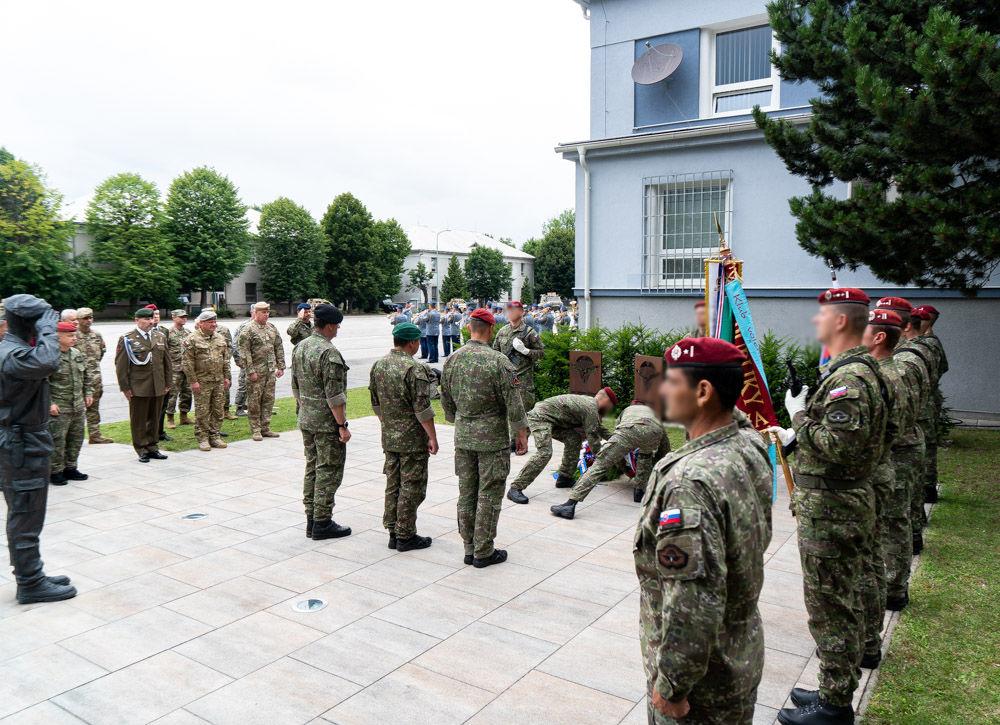 FOTO: Výmena veliteľa 5. pluku špeciálneho určenia v Žiline, foto 26