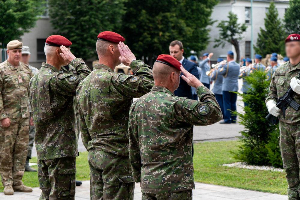 FOTO: Výmena veliteľa 5. pluku špeciálneho určenia v Žiline, foto 28