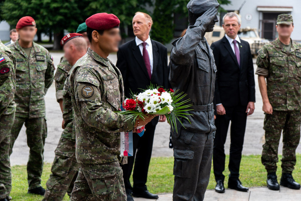 FOTO: Výmena veliteľa 5. pluku špeciálneho určenia v Žiline, foto 29